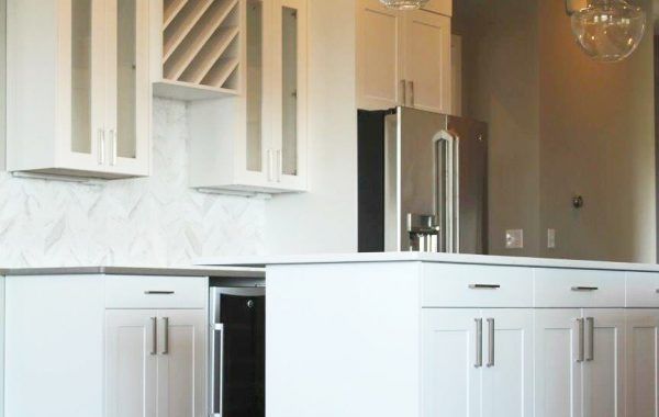 Wet Bar with wine cube
